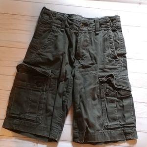 American Eagle Cargo Shorts-26 classic length